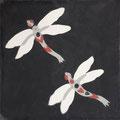 SOUTHERN TILES_CAROCIM Zementfliese, Libélulles M1202, 20x20 cm