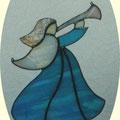 Trompetenengel ca 20 x 18 cm, € 25,00