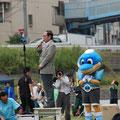 開催に先立って川崎市長の挨拶