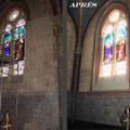 Eglise de Saint-Ciers-sur-Gironde. Commande publique (détail)