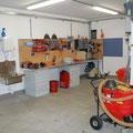 Werkstatt des Gerätewarts