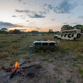 Jeep Komfort-Camping Botswana
