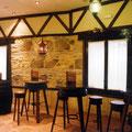 montar un negocio Detalle decoración interior restaurante