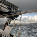 Überfahrt bei Starkwind
