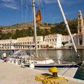 Panormitis on Symi island, Greece