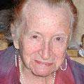 Margarite Hoinkes († am 19.04.2010) - Gründungsmitglied