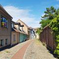 Restaurierte Bürgerhäuser