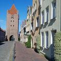 Das Dammtor ist das von vier Stadttoren einzig erhaltene. Es wurde Mitte des 14. Jahrhunderts erbaut.