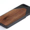 WOOD7 iPhone 7 plus wooden case walnut wood top