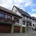 Der Gasthof Adler in Güttingen wird meine Herberge sein