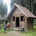 In der Wegscheidhütte haben Joseppe und Toni übernachtet, Martina traf ich vorher schon unterwegs