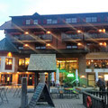 Das Hotel Mummelsee am Abend