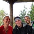 Martina, Joseppe und Timo. Die drei hatten sich vorher schon mal getroffen.