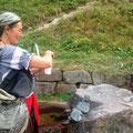 Martina am Hexenbrunnen