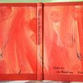 Liebe ist ... /Anthologie/ Edelpappband Gewebe/Kleisterpapier, Prägungen