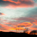 201202-Sonnenuntergang in Stainz