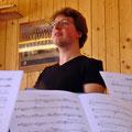 Unser Dirigent Jan - immer Fit, ohne Wenn und Aber...