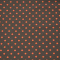 dunkelgrau/ orange Punkte
