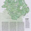 GEO / Irlande du Nord / Northern Ireland map