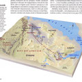 GEO / Danakil (Ethiopie) en fausse 3D / Danakil desert in False 3D, map