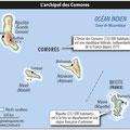 GlobalMagazine.info / Comores / Comoros map