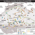 Global Magazine / Sahara map