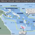 GlobalMagazine.info / Mélanésie / Melanesia map