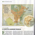 Historia / Carte des colonies françaises / French colonies in America and India, map