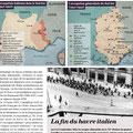 Historia / Occupation de la France par les Italiens / France occupied by the Italians