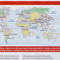 Historia / COP21, le monde en 2100 / The World in 2100 map