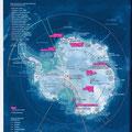 GEO / Antarctique / Antarctica map