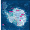 GEO / Antarctique / Antarctica map