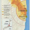 GEO / Fukushima map