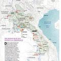 GEO / Laos map