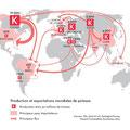L'Alimentation en otage, de José Bové, éd. Autrement (2015). Map