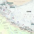 Carte pour l'expo La légende de National Geographic / Map for an exhibition on the NGM