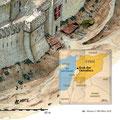 Historia / Krak des Chevaliers (carte harmonisée avec l'illustration)