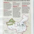 GEO / L'islam en Chine / Islam in China map