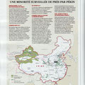 GEO / L'islam en Chine / Islam in China map