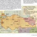 Historia / Carte de la Turquie en 1920 / Turkey in 1920 map
