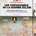 Historia / La guerre au Moyen Âge / King of England storms France, map