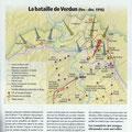 Historia, Bataille de Verdun / Battle of Verdun map