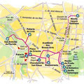 Arts Magazine / Madrid map
