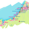 Gala / Pays basque / Basque country map