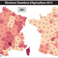 Global Magazine / Elections / Elections in France map