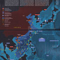 GEO / Rubrique Le monde en cartes / South China Sea in dispute, map