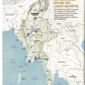 GEO / Birmanie / Burma / Myanmar map