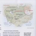 National Geographic / Cambodge / Cambodia map