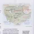 National Geographic / Cambodge / Cambodia map