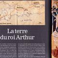 Historia / La terre du roi Arthur / King Arthur's land, map